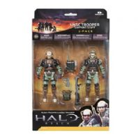 HALO REACH SERIES 3 - UNSC TROOPER SUPPORT STAFF 2 PACK